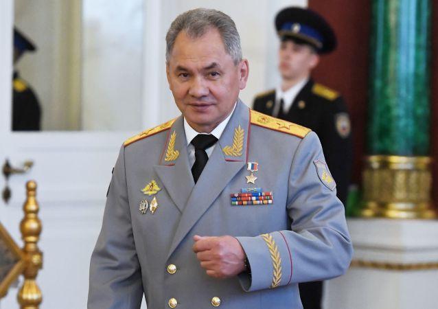 俄罗斯国防部长谢尔盖•绍伊古