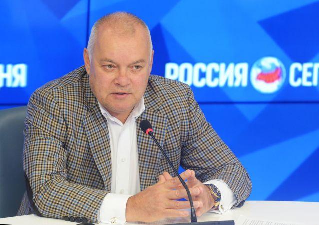 今日俄罗斯国际通讯社总经理基谢廖夫