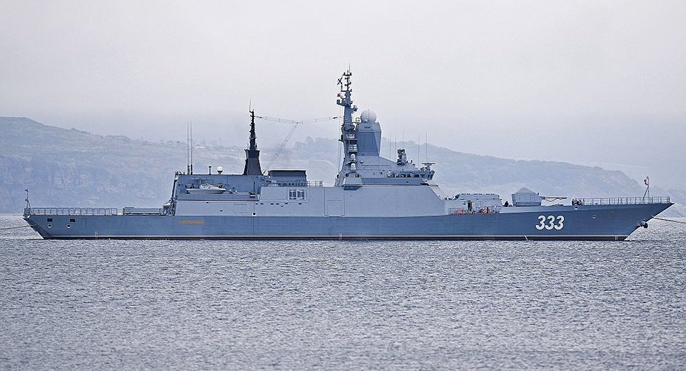 """20380型护卫舰""""完美"""""""