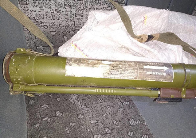 乌克兰一名男子将一个榴弹发射器遗忘出租车上