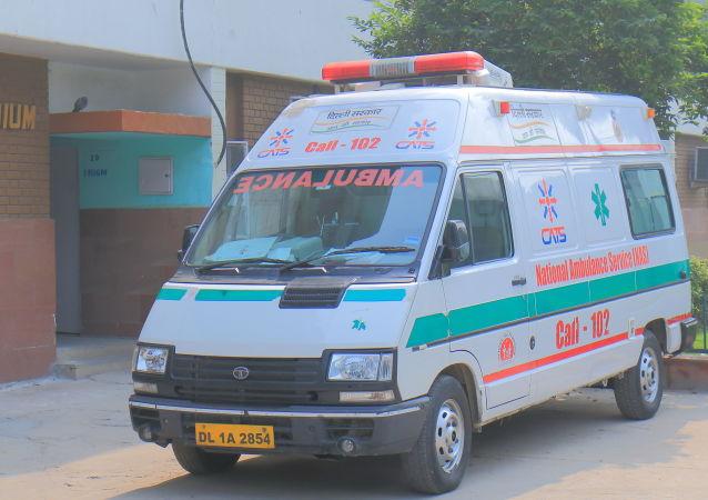 印度一男孩掉进沸腾汤锅并因严重烫伤死亡