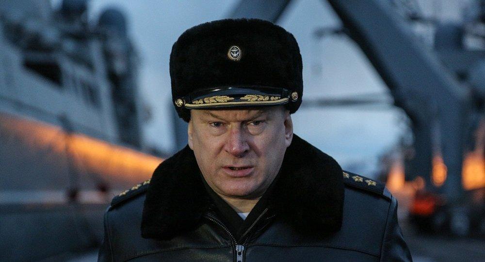 俄罗斯海军总司令叶夫梅诺夫