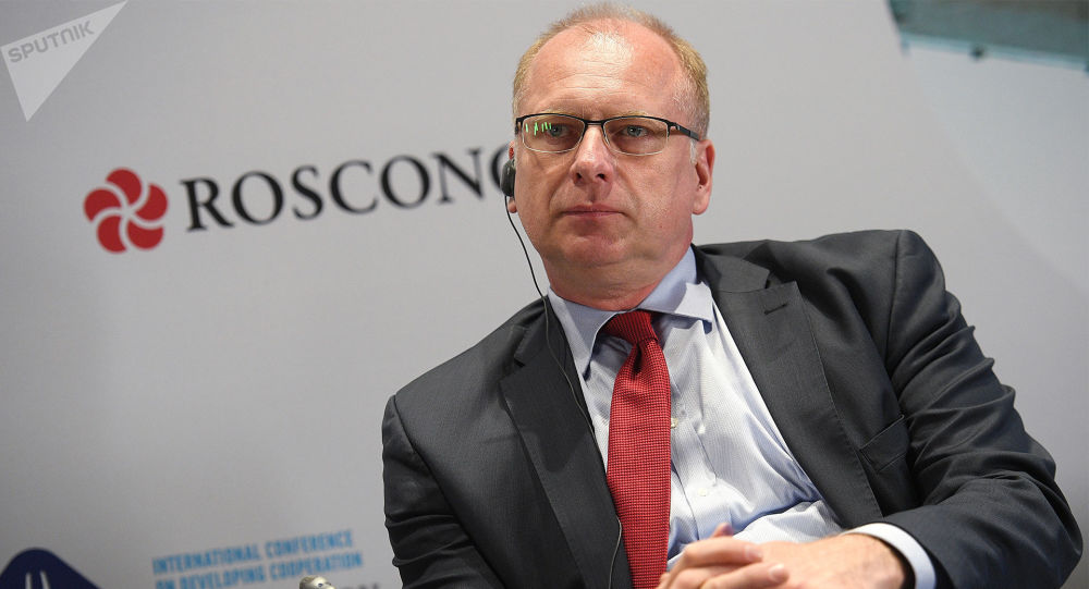 俄罗斯欧洲企业协会会长弗兰克∙绍夫