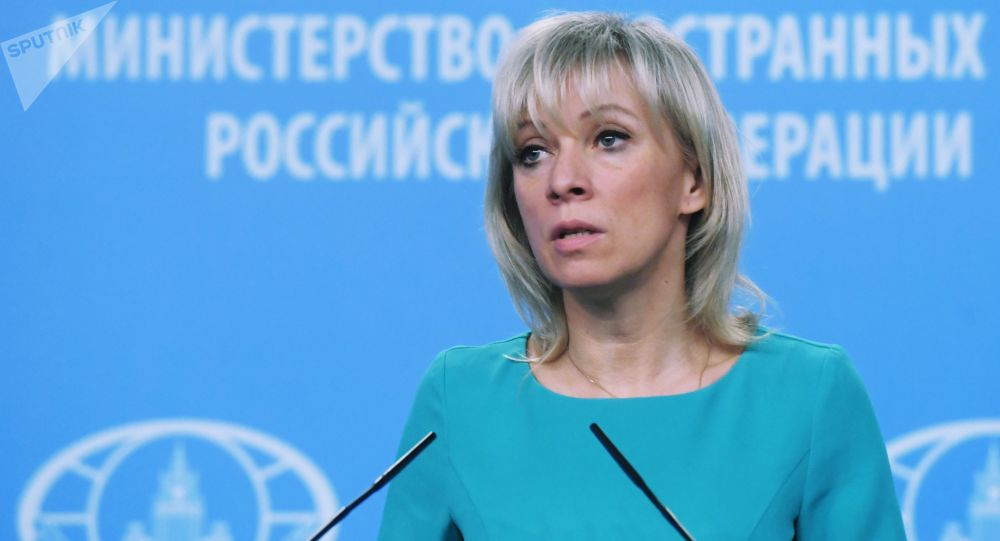 俄外交部发言人扎哈罗娃