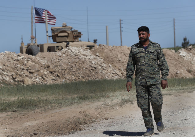 Американское военное присутствие на севере Сирии