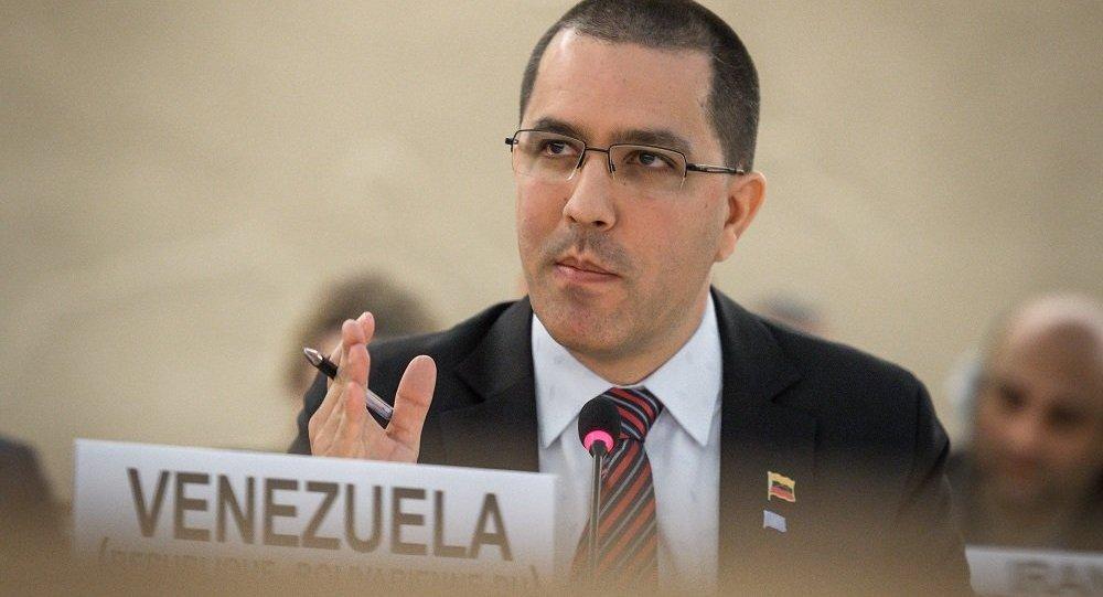 委内瑞拉外交部长豪尔赫∙阿雷亚萨