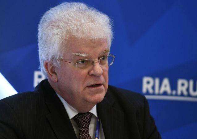 俄罗斯常驻欧盟代表奇若夫