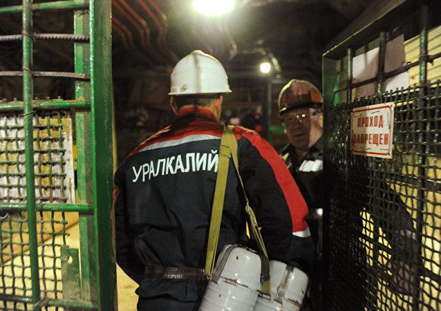 俄乌拉尔钾肥公司商定以每吨230美元的价格对印出口氯化钾