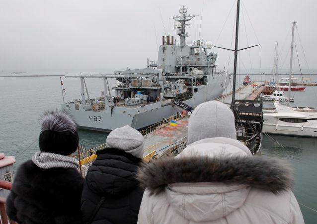 """英国海军""""Echo""""号侦察船"""