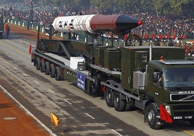 印度烈火-4遠程彈道飛彈