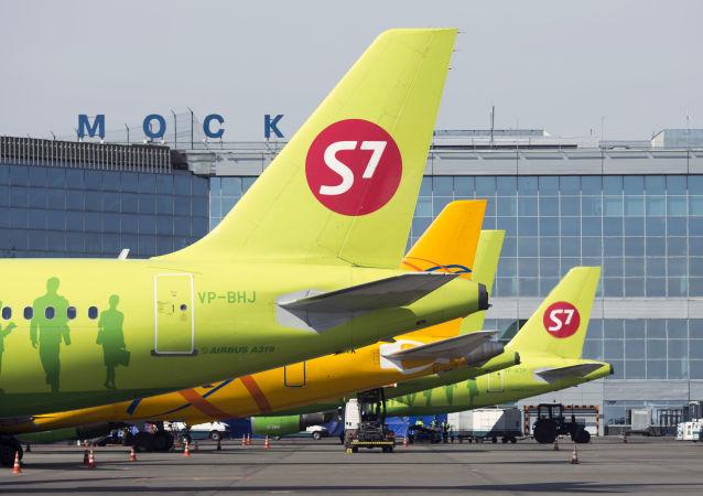 俄S7航空公司4月4日起暂停从泰国、越南、日本运出乘客的航班
