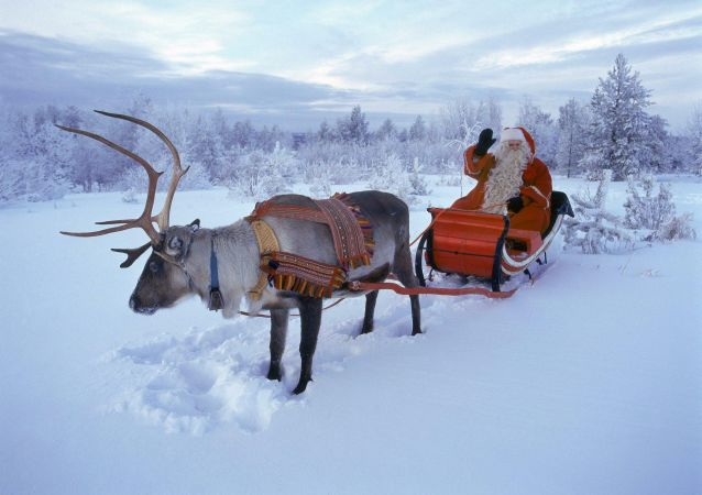 圣诞老人已在全球送出超30亿份礼物