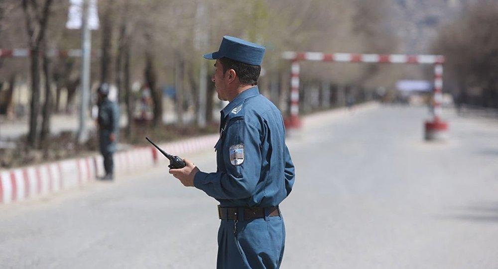 Полиция в Кабуле.