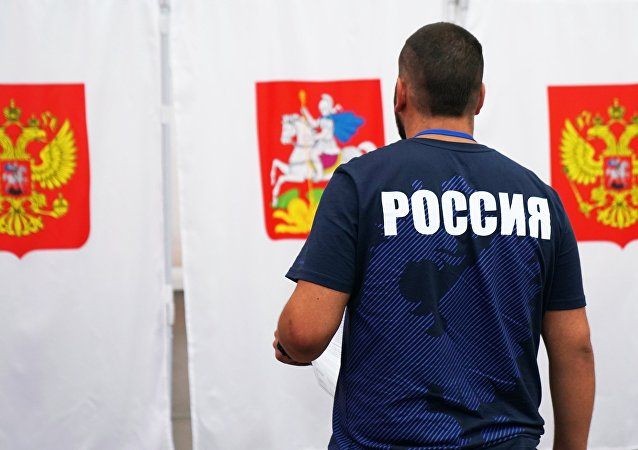 莫斯科宪法修正案投票站已经开放