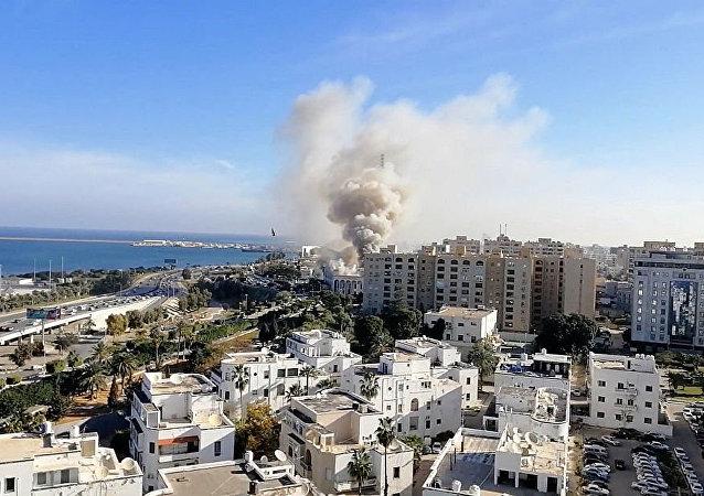 利比亚首都的黎波里