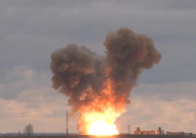 Запуск новейшей ракеты «Авангард»