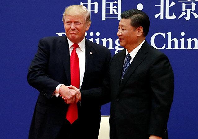 特朗普表示将在G20峰会上与中国国家主席会晤
