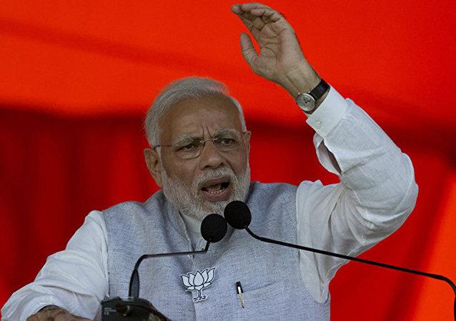 印度总理纳伦德拉∙莫迪
