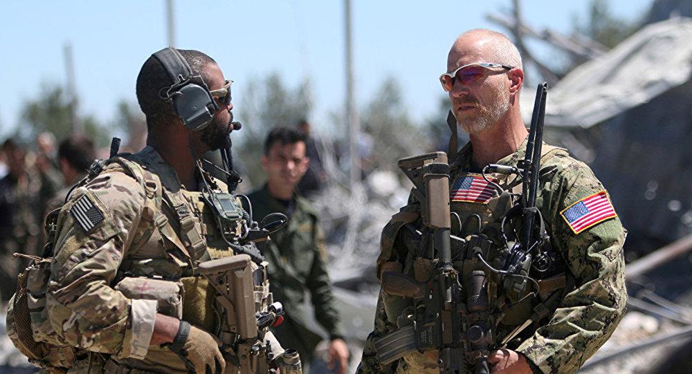 叙利亚,美国军方