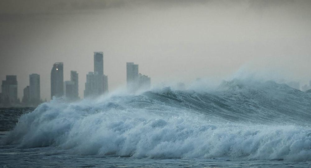 印度尼西亚沿岸宣布有海啸威胁