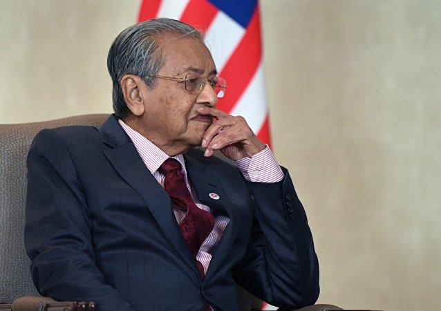 马来西亚总理马哈蒂尔·穆罕默德