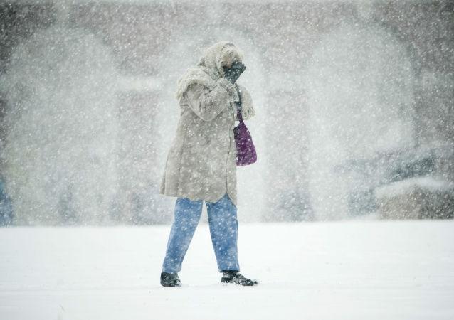 暴风雪,美国