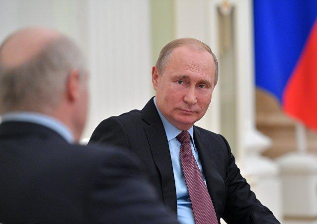 克宫:普京与卢卡申科将在今年秋季举行会晤