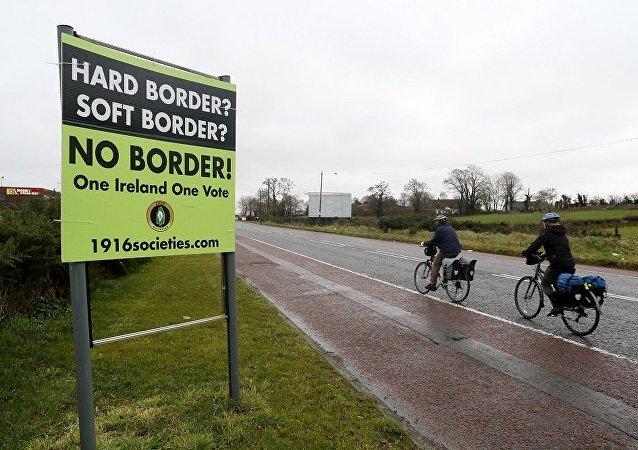 爱尔兰和北爱尔兰边境