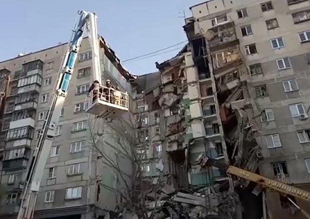 约2200万卢布善款被汇入马格尼托戈尔斯克燃气爆炸事件后设立的慈善账户