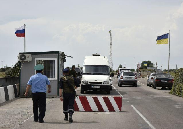 俄乌边境,克里米亚