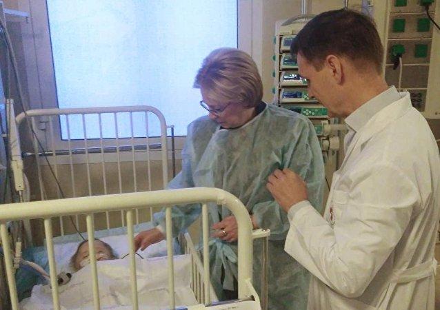 医生设法保住了马格尼托哥尔斯克宝宝的脚