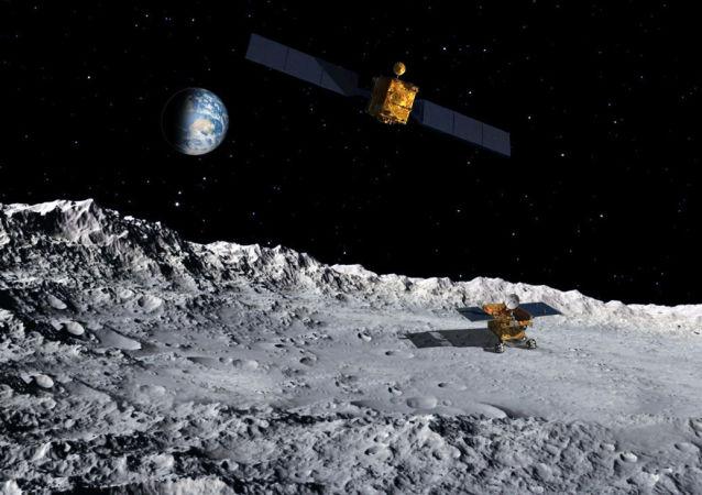 中国嫦娥四号探测器成功登陆月球背面