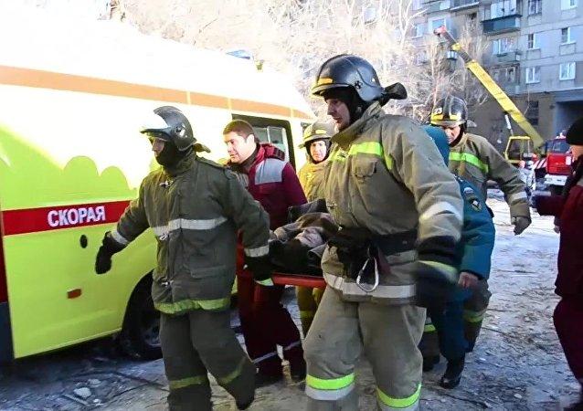 俄紧急情况部:马格尼托戈尔斯克市爆炸事件死难者遗体全部辨识完毕