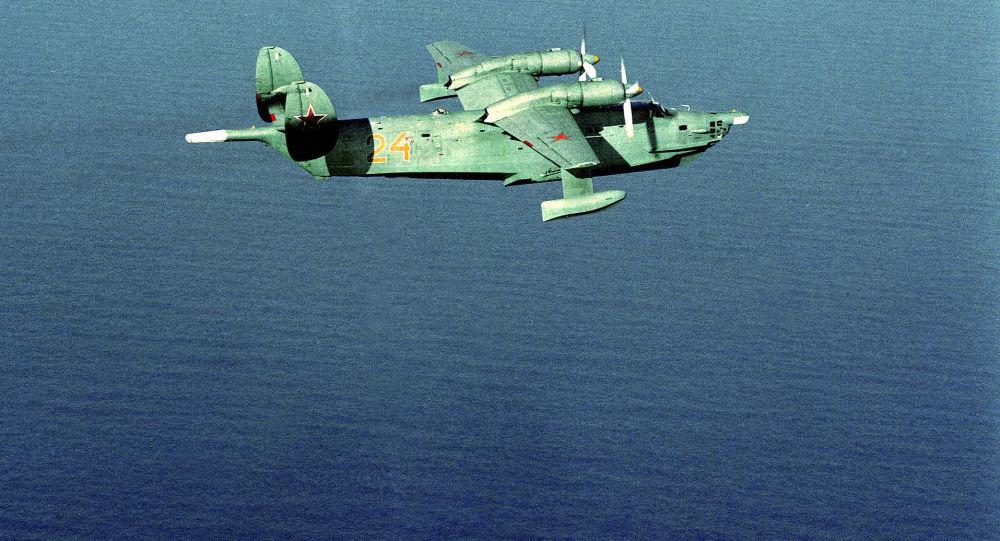 反潜两栖飞机Be-12机群