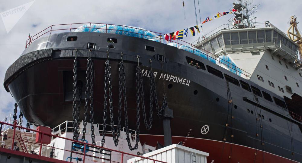 俄罗斯破冰船