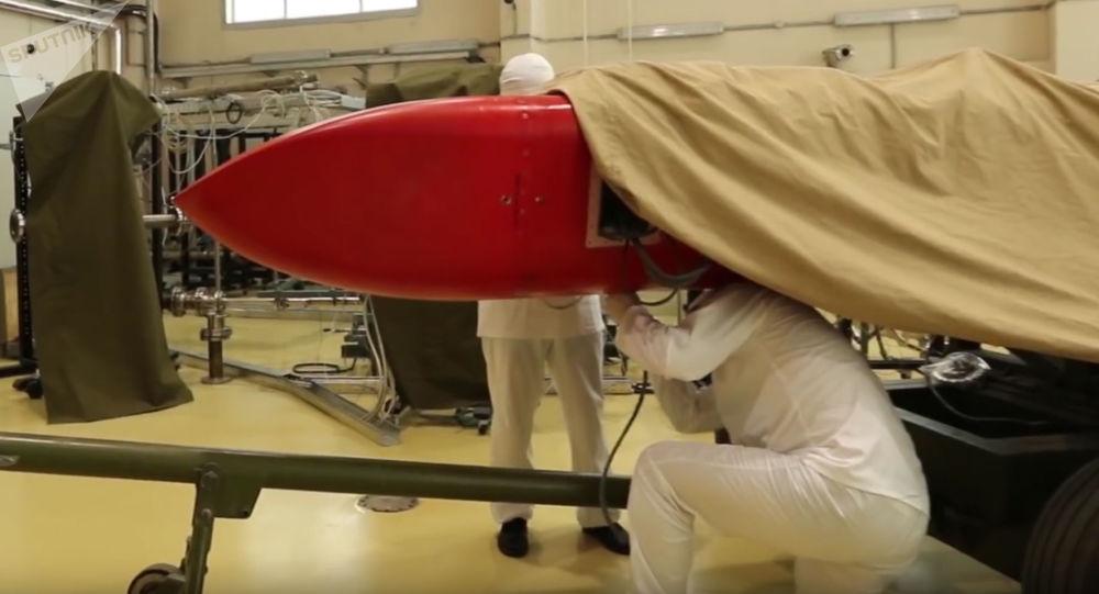 """测试""""海燕""""核动力巡航导弹"""
