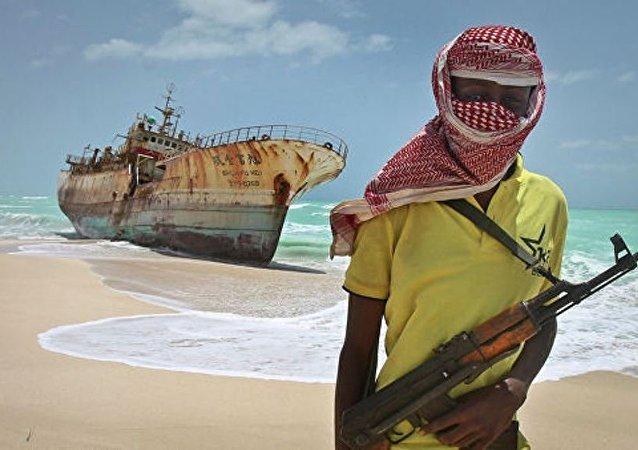 海盗在几内亚湾MSC Mandy集装箱运输船上劫持6名俄船员