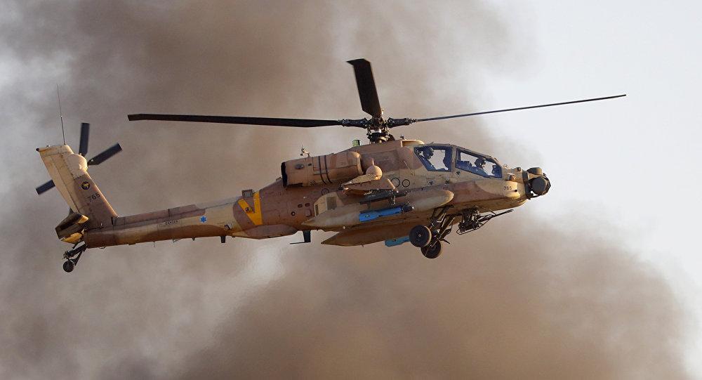 以色列国防军的AH-64 Apache Longbow直升机