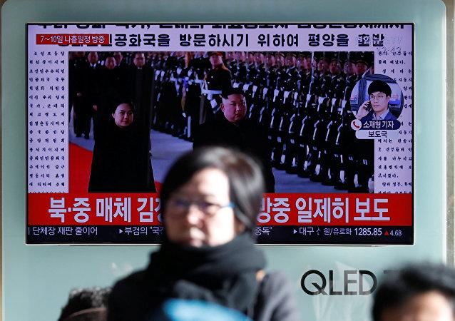 朝媒:朝鲜第一夫人李雪主随同金正恩访华