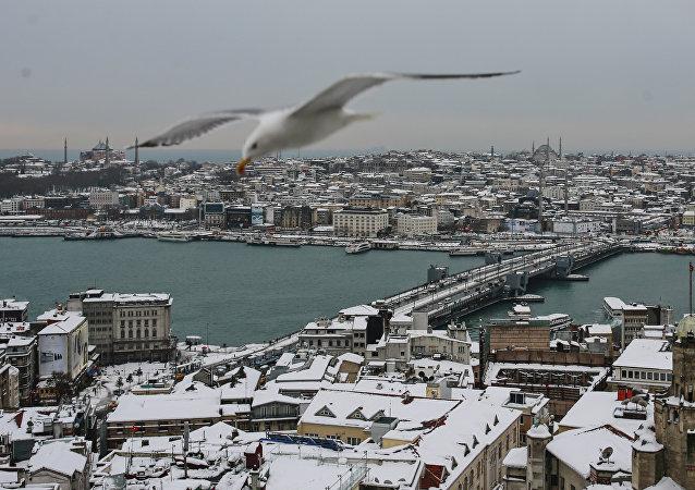 土耳其关闭了博斯普鲁斯海峡