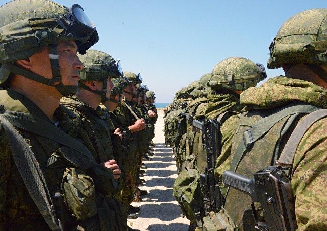 俄罗斯驻叙利亚军人