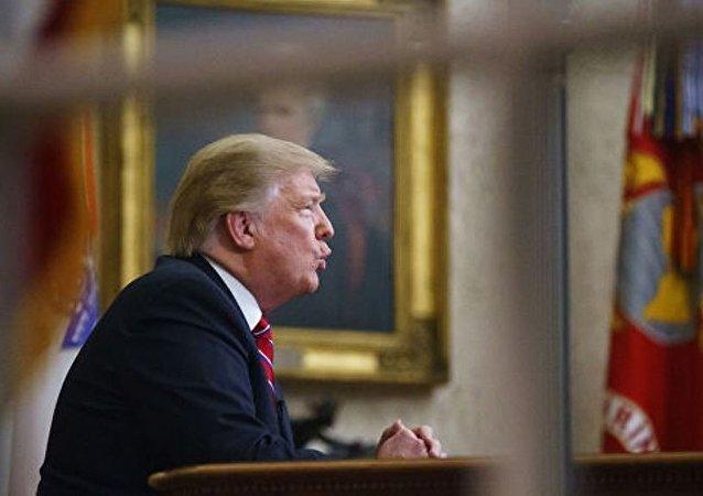 美国总统唐纳德·特朗普