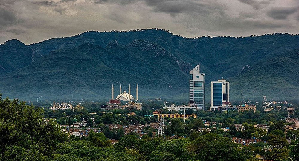 Islamabad top view