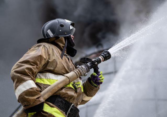 俄沃罗涅日州一弹药销毁场发生火灾