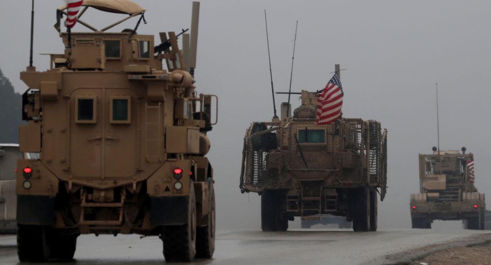 美国军方在叙利亚