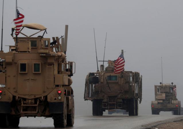 从叙利亚撤出的美军