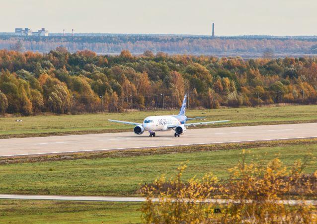 俄罗斯MC-21首次在国外降落的视频被公布