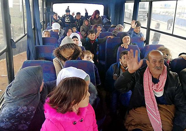 7000名叙利亚难民从约旦返回家园