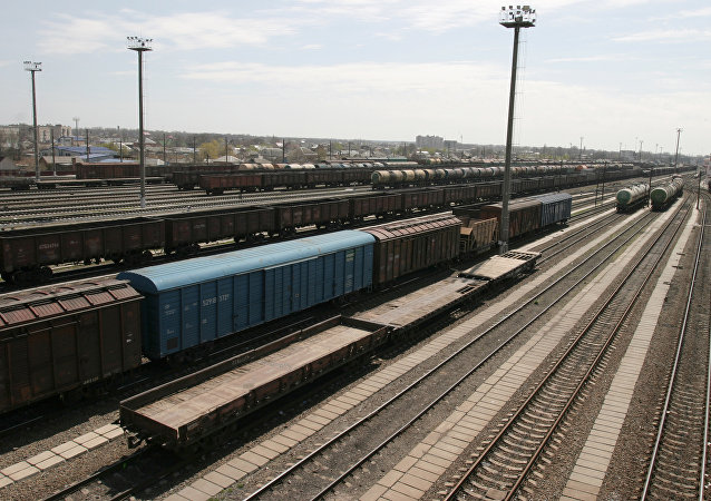 专家:经由俄罗斯的过境集装箱铁路运输仍在在增长