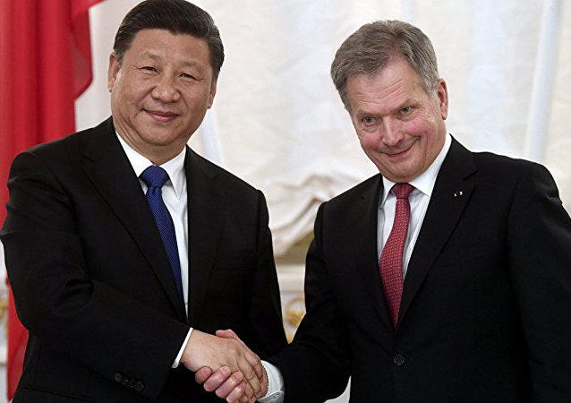 中国与芬兰加强北极伙伴关系